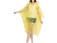 Дождевик-пончо Perfecto Linea желтый (28-102002)