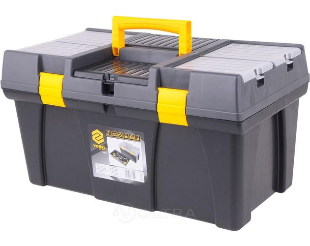 """Ящик для инструмента пластиковый 26"""" Vorel 78815"""