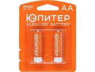 Батарейка AA LR6 1.5V alkaline 2шт. Юпитер (JP2121)