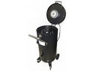 Передвижной пескоструйный аппарат инжекторного типа с электродвигателем для вакуума 75л Rock Force RF-SB28G