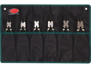 Набор съемников стопорных колец 6пр RockForce RF-5049A