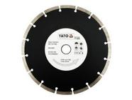 Круг алмазный 230x22,2мм (сегмент) Yato YT-6005