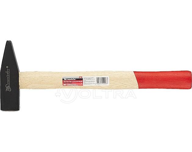 Молоток слесарный 800г деревянная рукоятка Matrix (10235)