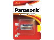 Элемент питания 3V CR123A Panasonic Lithium 1BP