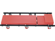 Лежак ремонтный на шести колесах 1030х440х120мм поднимающийся подголовник Matrix (567455)