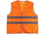 """Жилет сигнальный р-р 52-54 рост 170-176 ткань """"Оксфорд"""" (оранжевый)"""