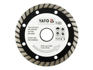 Круг алмазный 115x22,2мм (турбо)  Yato YT-6022