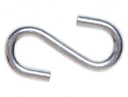 Крючок S-образный металлический 4 мм (1 шт) STARFIX (SMP-33682-1)