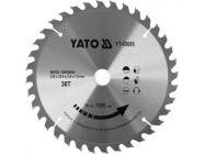 Диск пильный с напаянными зубцами из твердых сплавов 235х25.4х36T Yato YT-60686
