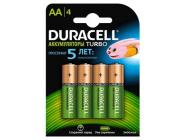 Аккумуляторная батарея AA 1.2V/2500mAh Duracell 4BP