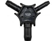 Калибратор для пластиковых труб с фаскоснимателем 16/20/26 Yato YT-22374