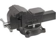 Тиски слесарные поворотные 150мм 15кг Yato YT-6503