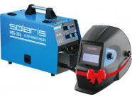 Solaris MIG-206 АКЦИЯ + Щиток сварщика Solaris ASF435S (MIG-206A1)