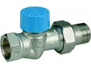 Клапан термостатический прямой МР Ду15 увеличенный проход М30х1.5 Giacomini R402HX003