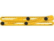 Линейка-шаблон для разметки 310х175х25мм Vorel 18470