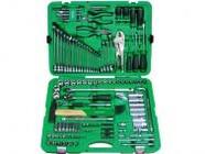 Набор слесарного инстр-та в чемодане 150 предметов TOPTUL (GCAI150R)