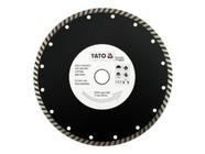 Круг алмазный 230x22,2мм (турбо) Yato YT-6025