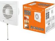 Вентилятор бытовой настенный 100 СВ, с выключателем, TDM (SQ1807-0016)