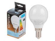 Лампа светодиодная G45 Шар 7.5Вт 170-240В E14 5000К Юпитер Люкс (JP5145-52)