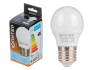 Лампа светодиодная G45 Шар 7.5Вт 170-240В E27 5000К Юпитер Люкс (JP5145-53)