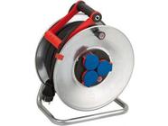 Удлинитель на катушке 50м (3 роз., 3.3кВт, метал. катушка, резин. кабель, с/з) Brennenstuhl Garant (3,3кВт; 3х1,5мм2; степень защиты: IP44) (1198530)