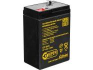 Аккумуляторная батарея Kiper F1 6V/4.5Ah (GP-645)