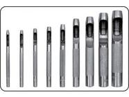 Пробойники для кожи 2.5-10мм (набор 9шт.) Yato YT-3590