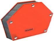 Держатель угольник магнитный для сварки на 6 углов усилие 34кг Rexant (12-4833)