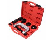 Набор инструментов для снятия и установки шаровых опор, подшипников, сайлентблоков Forsage F-909T2 9пр.