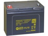 Аккумуляторная батарея гелевая 12V/75Ah Kiper (GEL-12750)