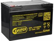 Аккумуляторная батарея Kiper 12V/100Ah (GPL-121000H)