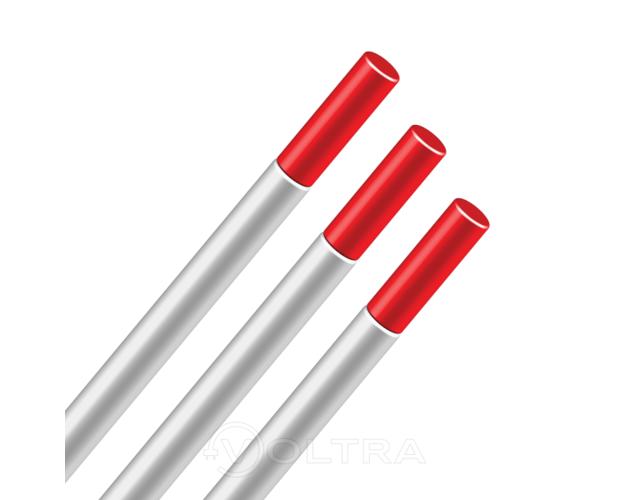 Электрод вольфрамовый WT20  2.4х175мм (красный)