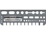 Полка для инструмента 475мм серая Stels (90717)