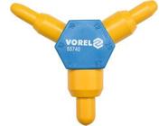Калибратор пластиковый d10x16 d12х20 d14х26мм Vorel 55740