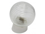 Светильник шар пластик/белый/наклонный 60Вт IP20 (НБП 01-60-004) Юпитер (JP1309-04)