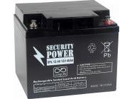 Аккумуляторная батарея Security Power 12V/40Ah (SPL 12-40)