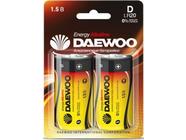 Батарейка D LR20 1,5V alkaline BL-2шт Daewoo Energy (4690601030429)