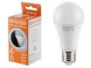 Лампа светодиодная A60 СТАНДАРТ 11 Вт 170-240В E27 4000К ЮПИТЕР (90 Вт аналог лампы накал., 960Лм, нейтральный белый свет) (JP5081-08)