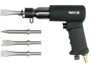 Пневмомолоток с набором насадок Yato YT-0990