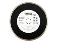 Круг алмазный 180x22,2мм (сплошной) Yato YT-6014