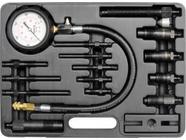 Набор для измерения компрессии дизельных двигателей (16пр) Yato YT-7307