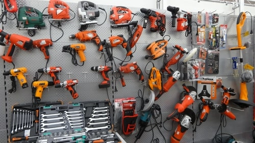 Все инструменты для постройки от Voltra.by