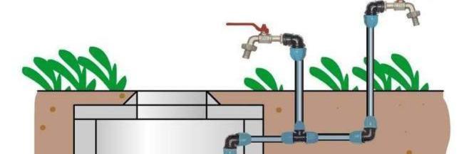 Летний водопровод на загородном участке
