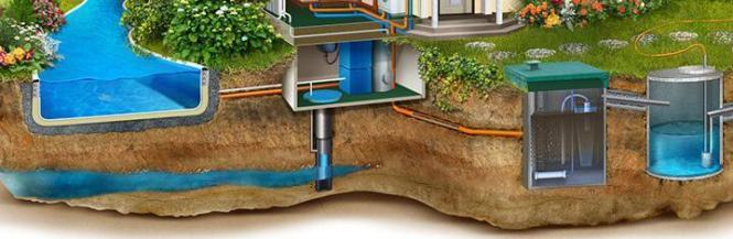 Постоянный водопровод на загородном участке